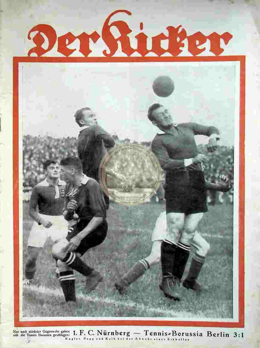1929 Juli 02. Kicker Nr. 27