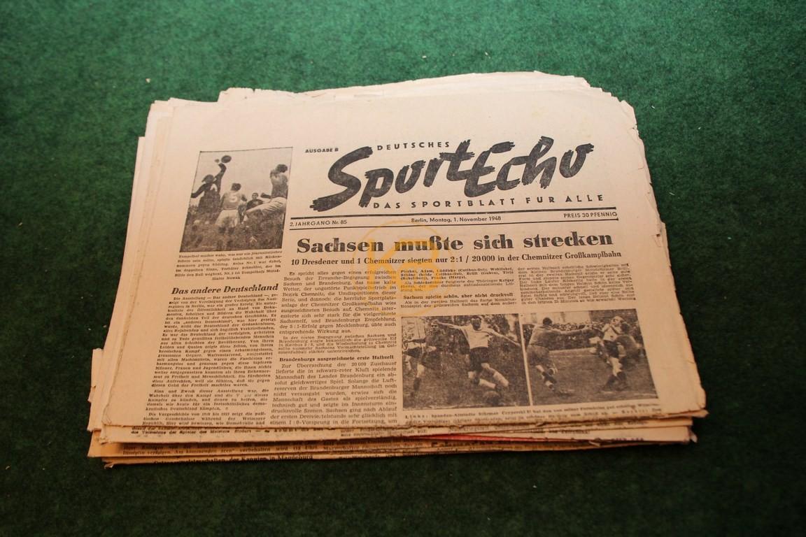 Sport Echo aus dem Zeitraum 01.11.1948 - 25.05.1963 15 Ausgaben