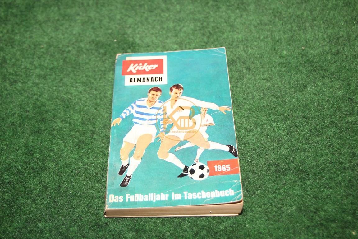 Kicker Almanach 1965 Das Fußballjahr im Taschenbuch