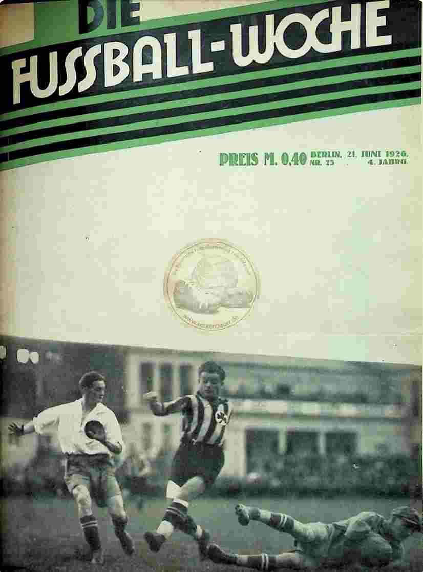 1926 Juni 21. Fussball-Woche Nr. 21
