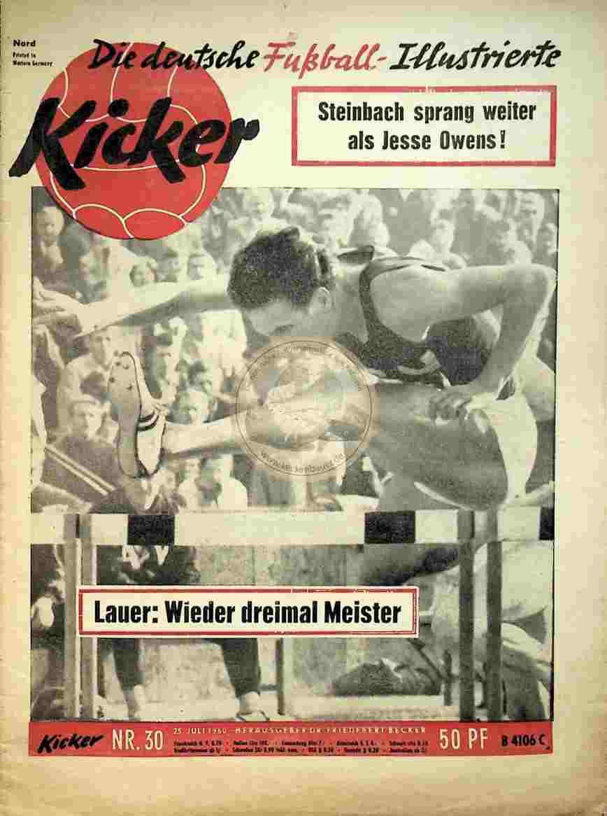 1960 Juli 25. Kicker Nr.30