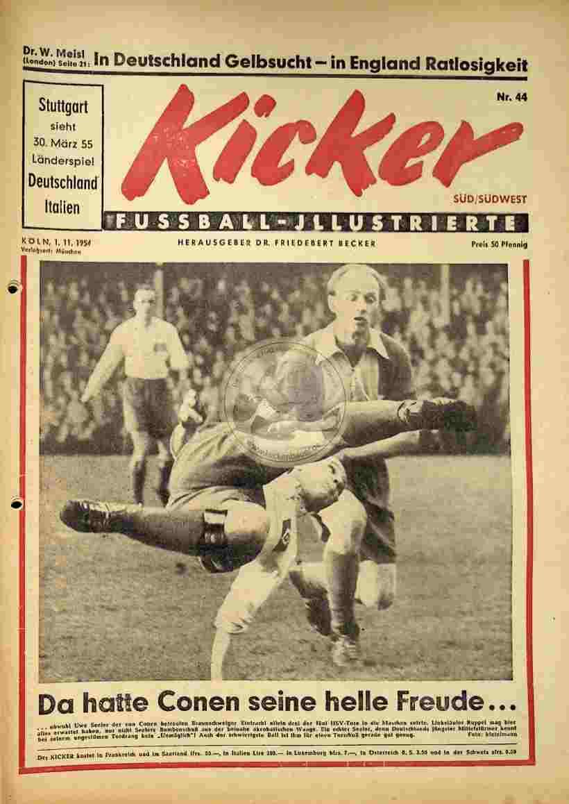 1954 November 1. Kicker Nr.44