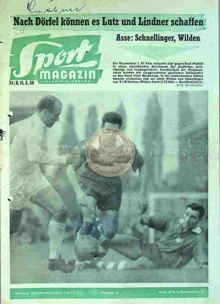 1960 September 26. Sport Magazin Nr.40