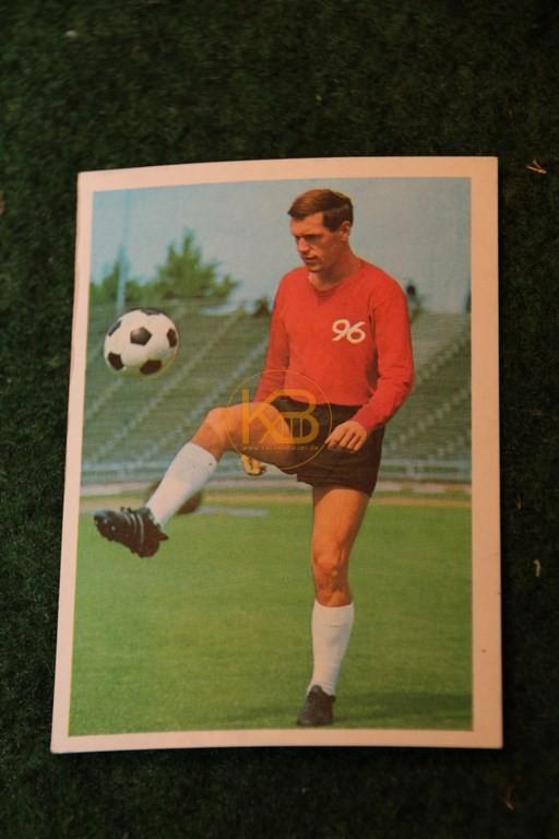 Bergmann Sammelbild von Josip Skoblar Hannover 96 Saison 68/69.