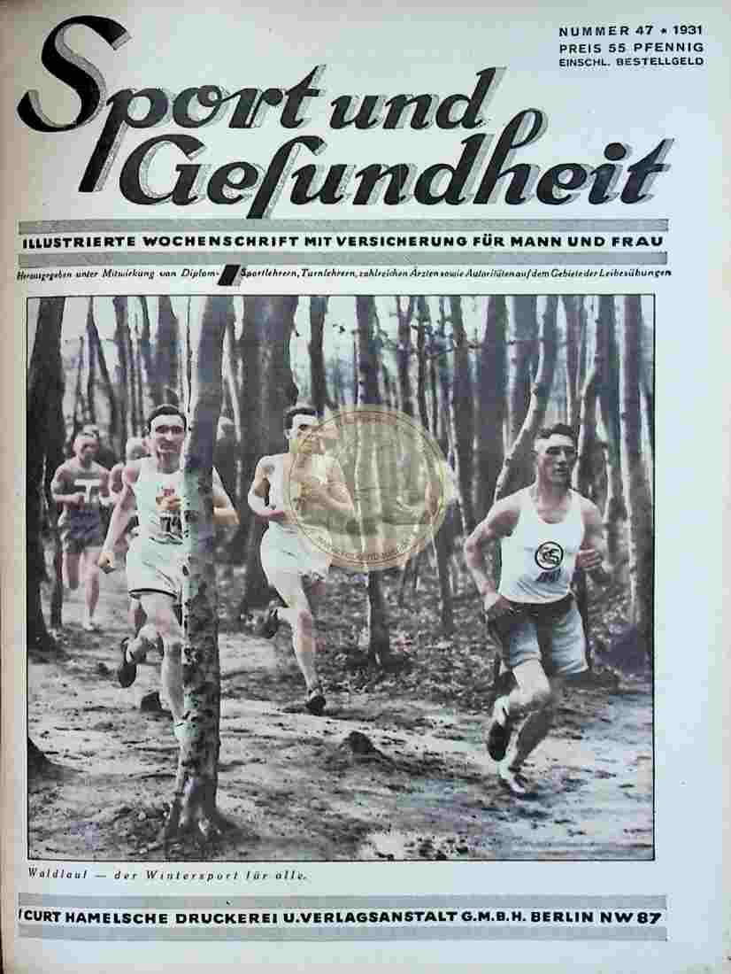 1931 Sport und Gesundheit Nr.47