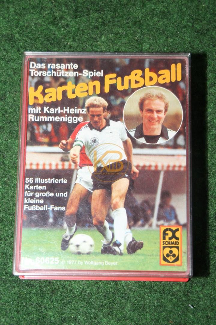 Kartenspiel der 80er: Karten-Fußball mit Karl-Heinz Rummenigge