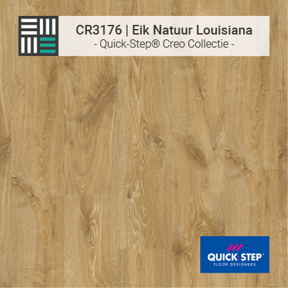 Quick-Step | CR3176 Eik Natuur Louisiana