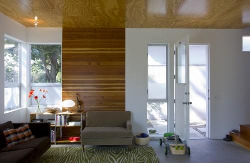 Met laminaat kun je accenten in je interieur aanbrengen.