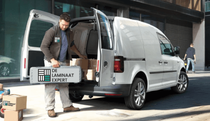 Laminaatkoning inclusief leggen bezorging voor al ons laminaat vloeren
