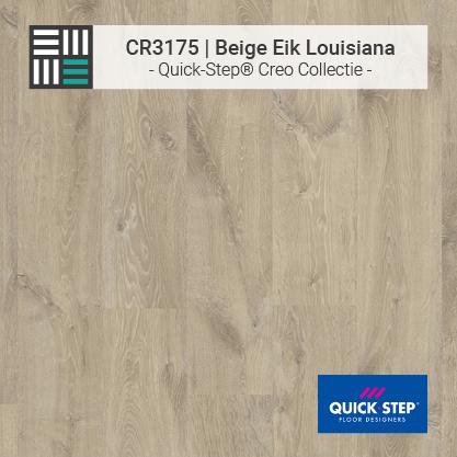 Quick-Step | CR3175 Beige Eik Louisiana