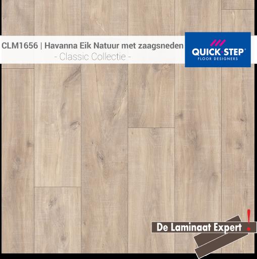 Classic CLM1656 Havanna Eik Natuur Met Zaagsneden