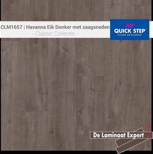 Classic CLM1657 Havanna Eik Donker Met Zaagsneden