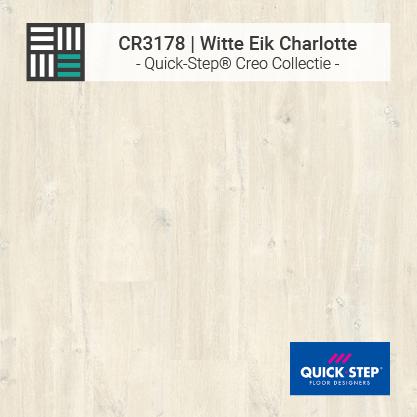 Quick-Step | CR3178 Witte Eik Charlotte