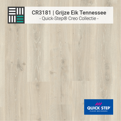 Quick-Step | CR3181 Grijze Eik Tennessee