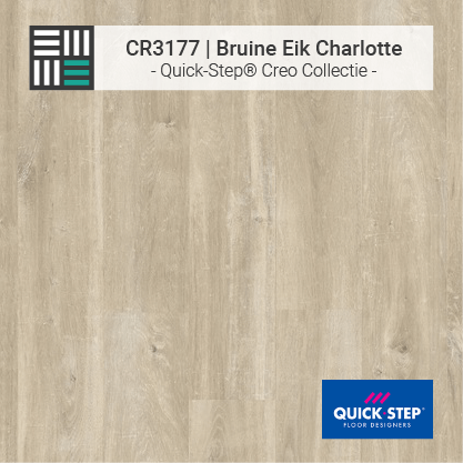 Quick-Step | CR3177 Bruine Eik Charlotte