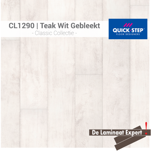 Classic CLM1290 Teak Wit Gebleekt