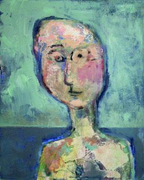 GEDOK Kunstmesse: Rosa Baum, Mensch