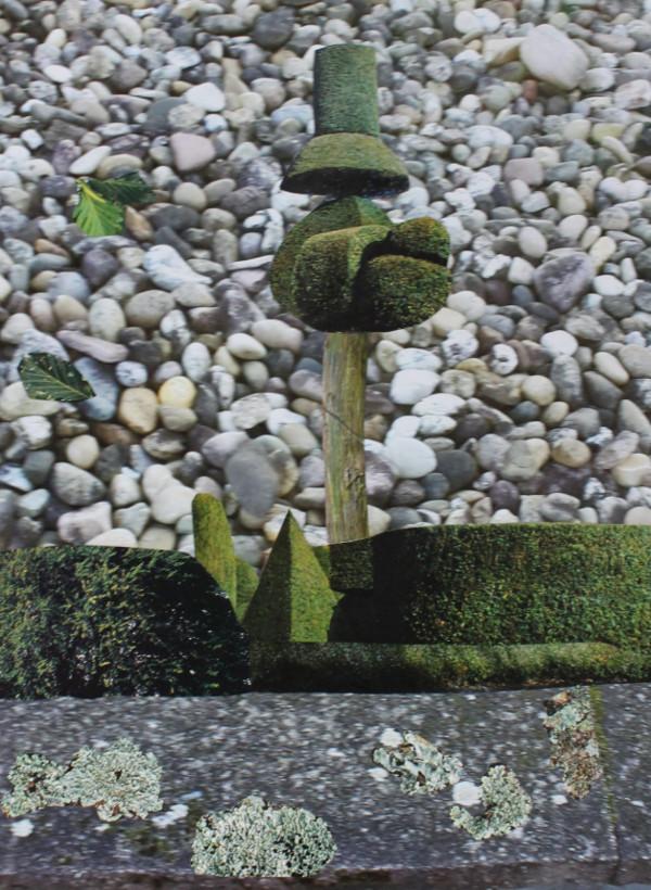 Jutta Hieret, Gartengestaltung 2, Fotocollage, 2020  | Wahr-nehmungen, Kunstwochen für Klimaschutz