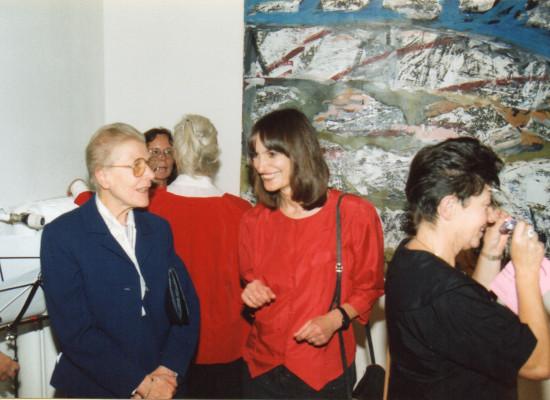 Frauenperspektiven in der Kunst 1991, Vernissage: Christiane Voigt, Brigitte Nowatzke-Kraft