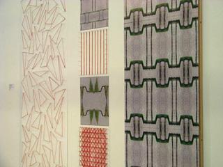 Brigitte Nowatzke-Kraft und Birgit Spahlinger - INPUT, Triptychon
