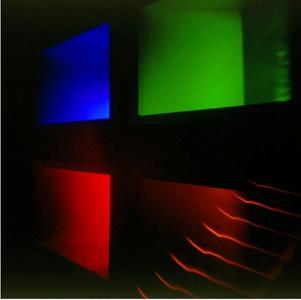 Achtung Spannung: Petra Böttcher , GEDOK Freiburg - The light II, Lochkamerafotografie, 50x50 cm, 2002