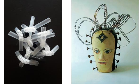 KUNST-STOFF: Iris Kamlah, Dorothea Rogulja-Wagner, Skulpturen