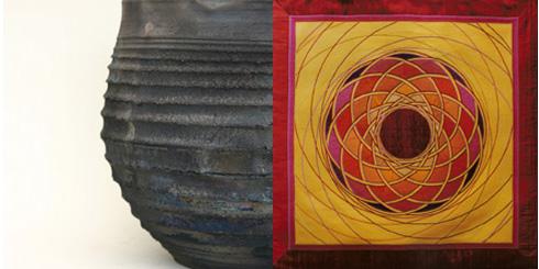 SchwarzBunt - Keramik und Textil