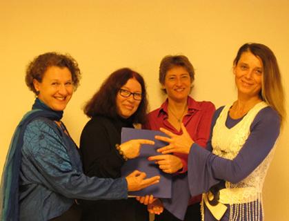 GEDOK - Neujahrskonzert 2015: Rita Huber-Süß, Ursula Euteneuer-Rohrer, Konstanze Ihle, Karin Huttary
