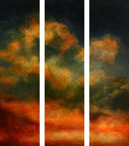Himmel und Erde: Anina Gröger, Triptychon