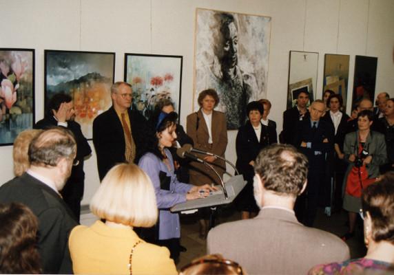 Vernissage Nancy 1995: Einführungsrede von Marie-Hélène Hanitsch-Desrue
