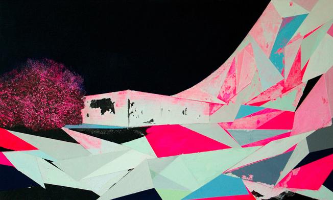 SECHS NEUE Malerei: Judith Lindner, Behausung, 2016