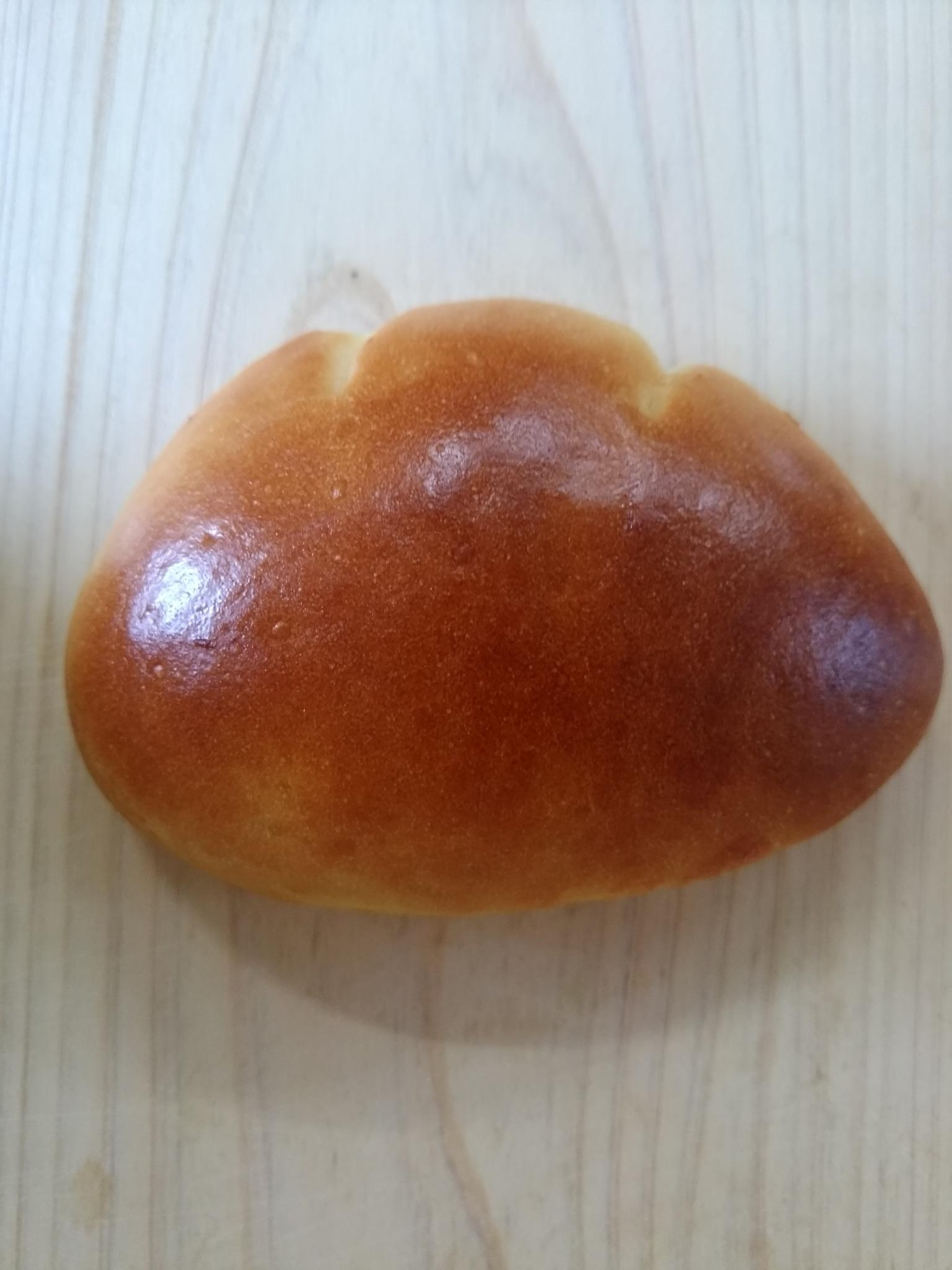 クリームパン160円         パパの手作りカスタード