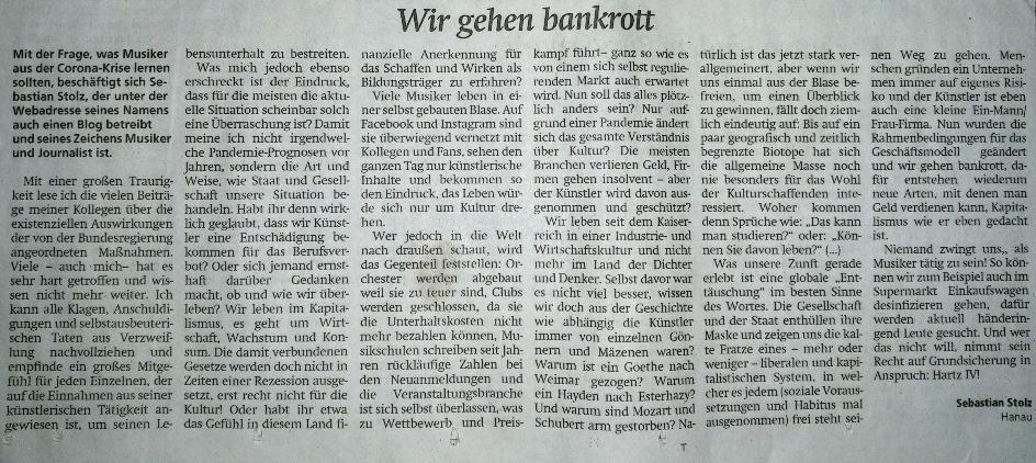 Hanauer Anzeiger - 13. Juni 2020