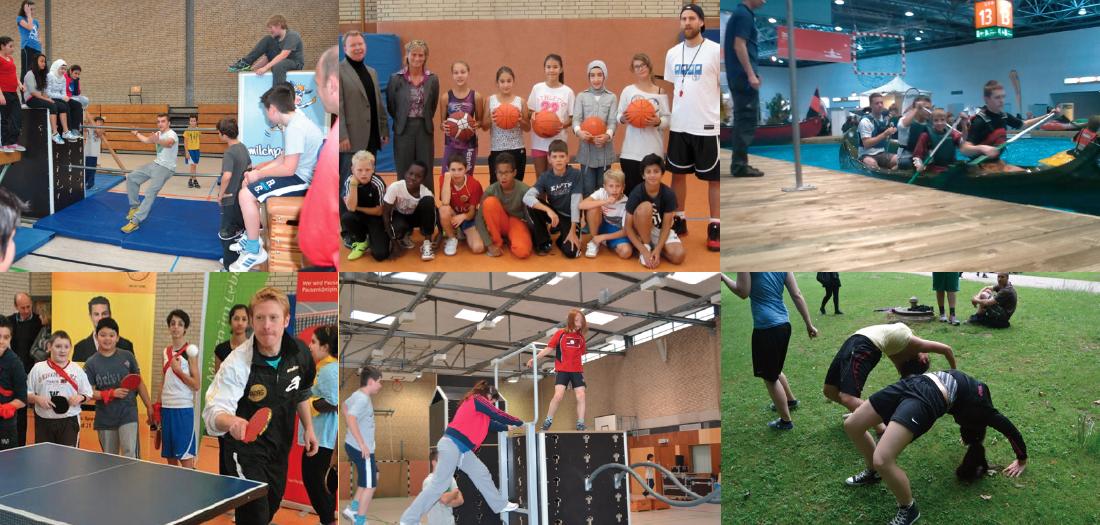 Vielfalt an Sportangeboten im Nachmittagsbereich