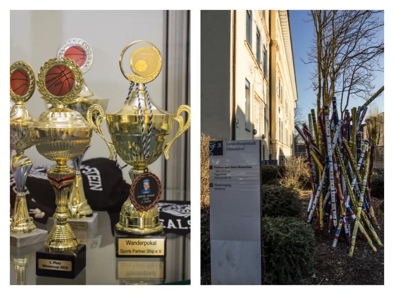 Siegesehrungen und Pokale