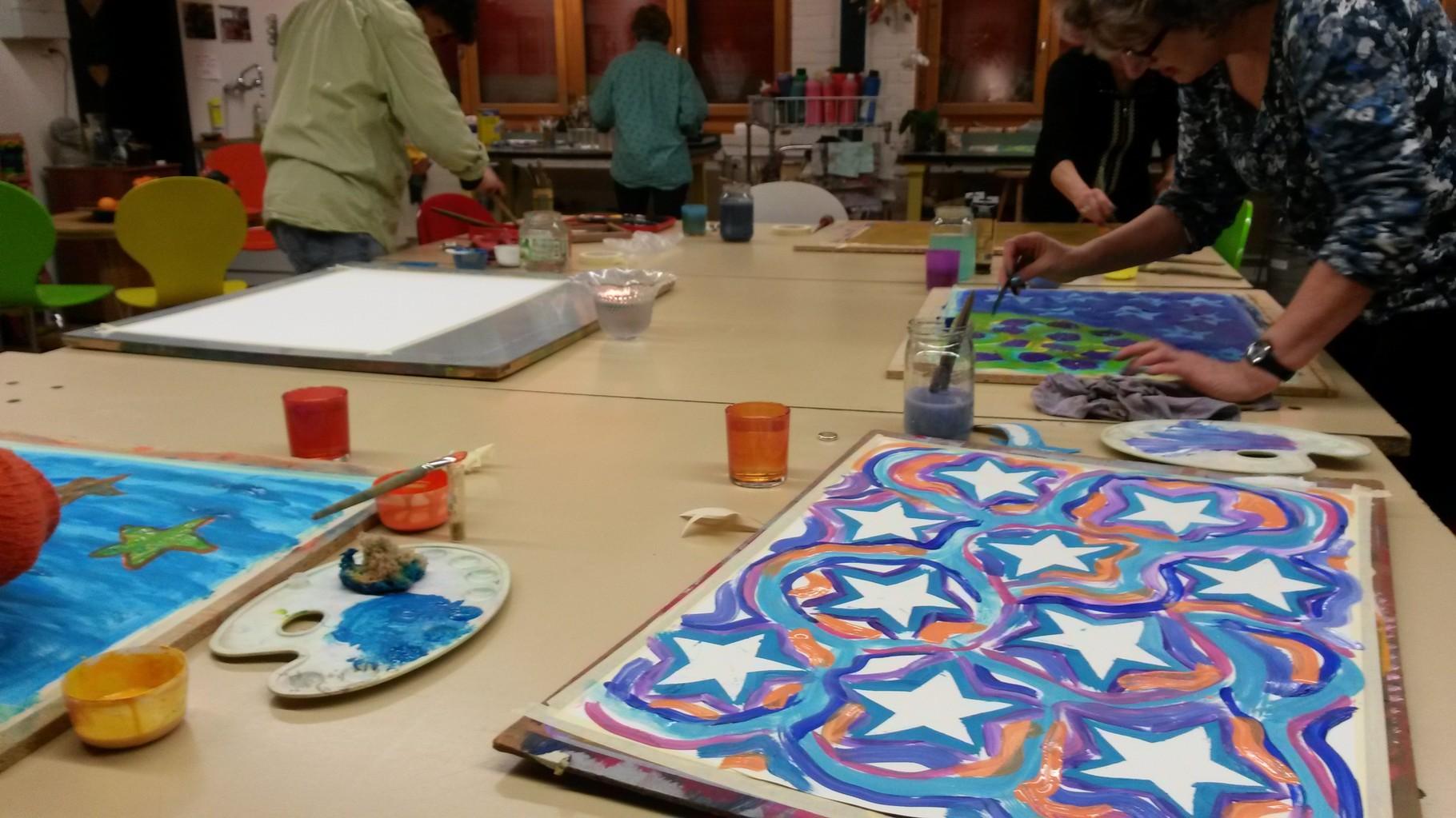Schöpferisches Malen und Gestalten