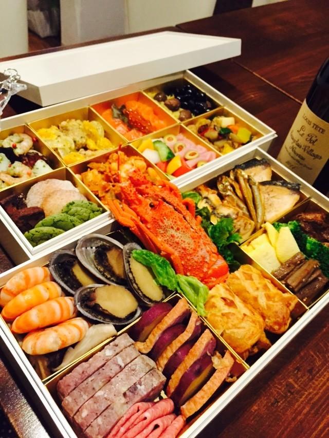 新春が待ち遠しいですね!日本酒でも、ワインでも・・・
