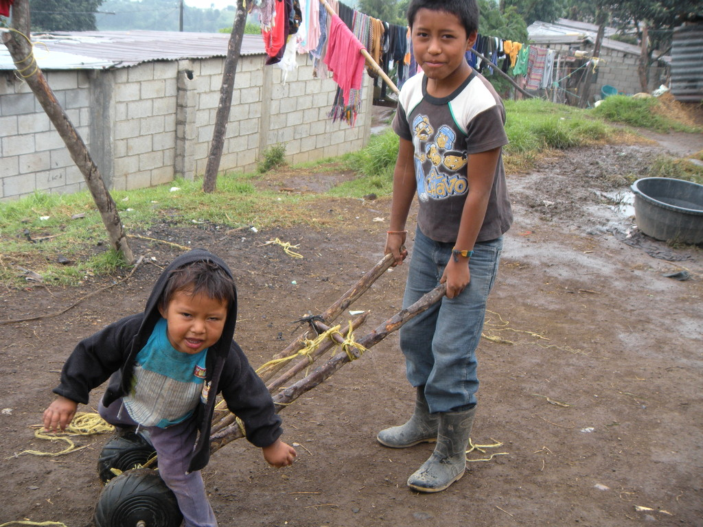 guatemala kids know how to make cool toys