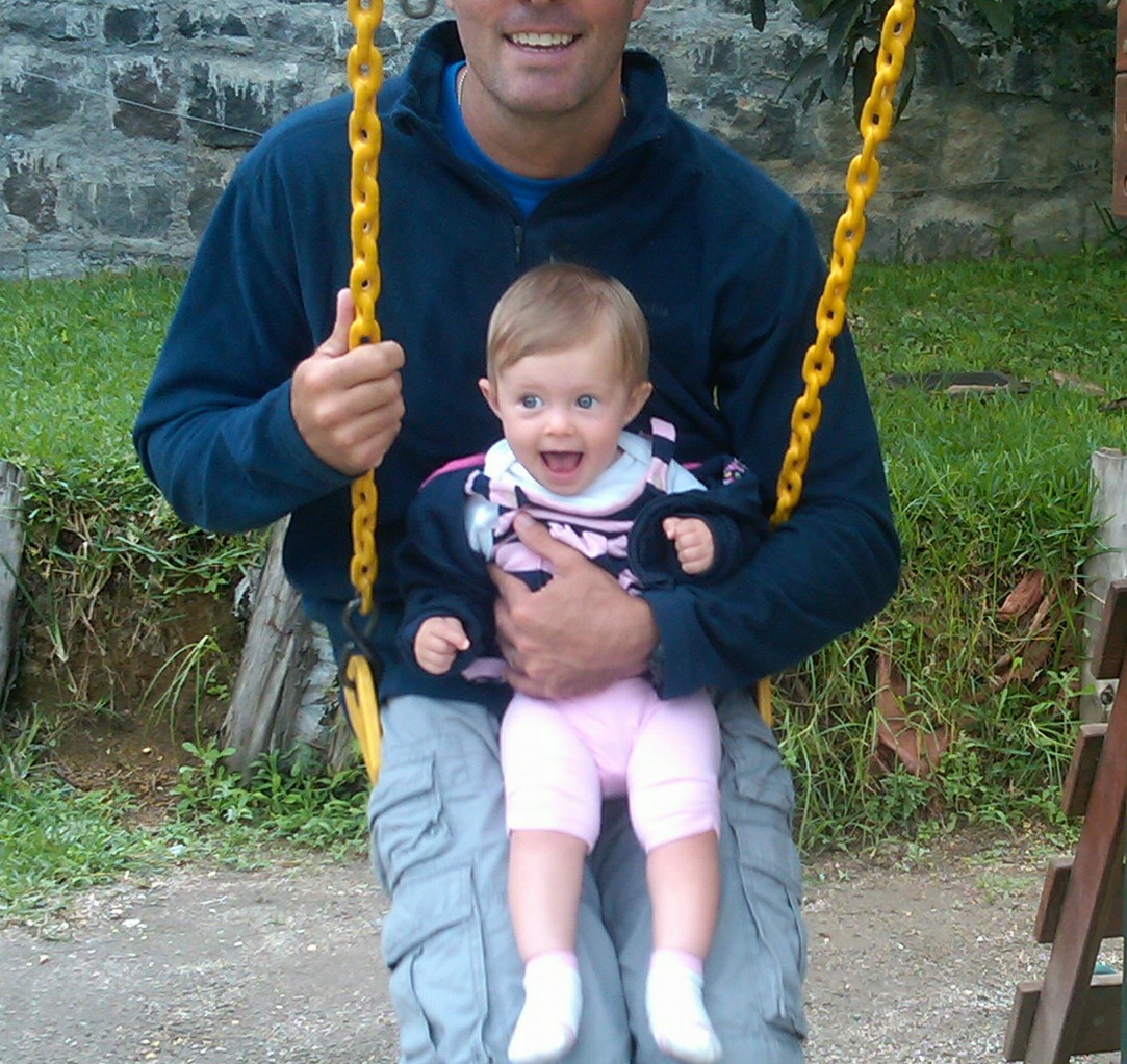 first swing time!
