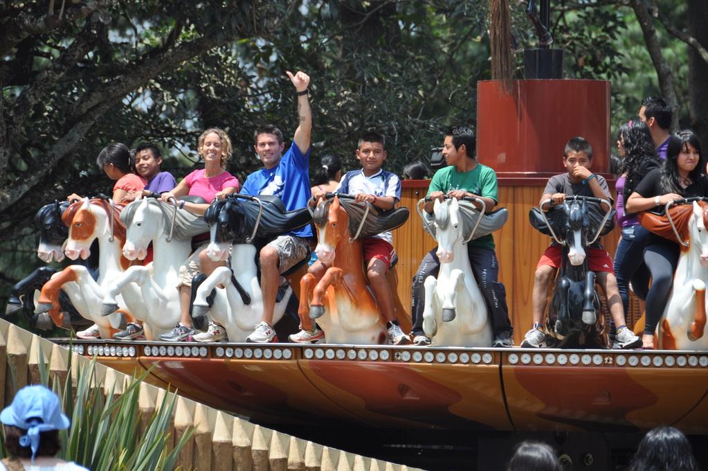 Rhinos trip to the amusement park