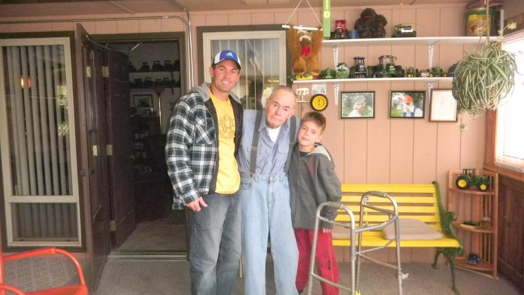 brock, grandpa & jake