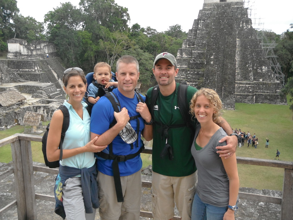 with mark & G in tikal