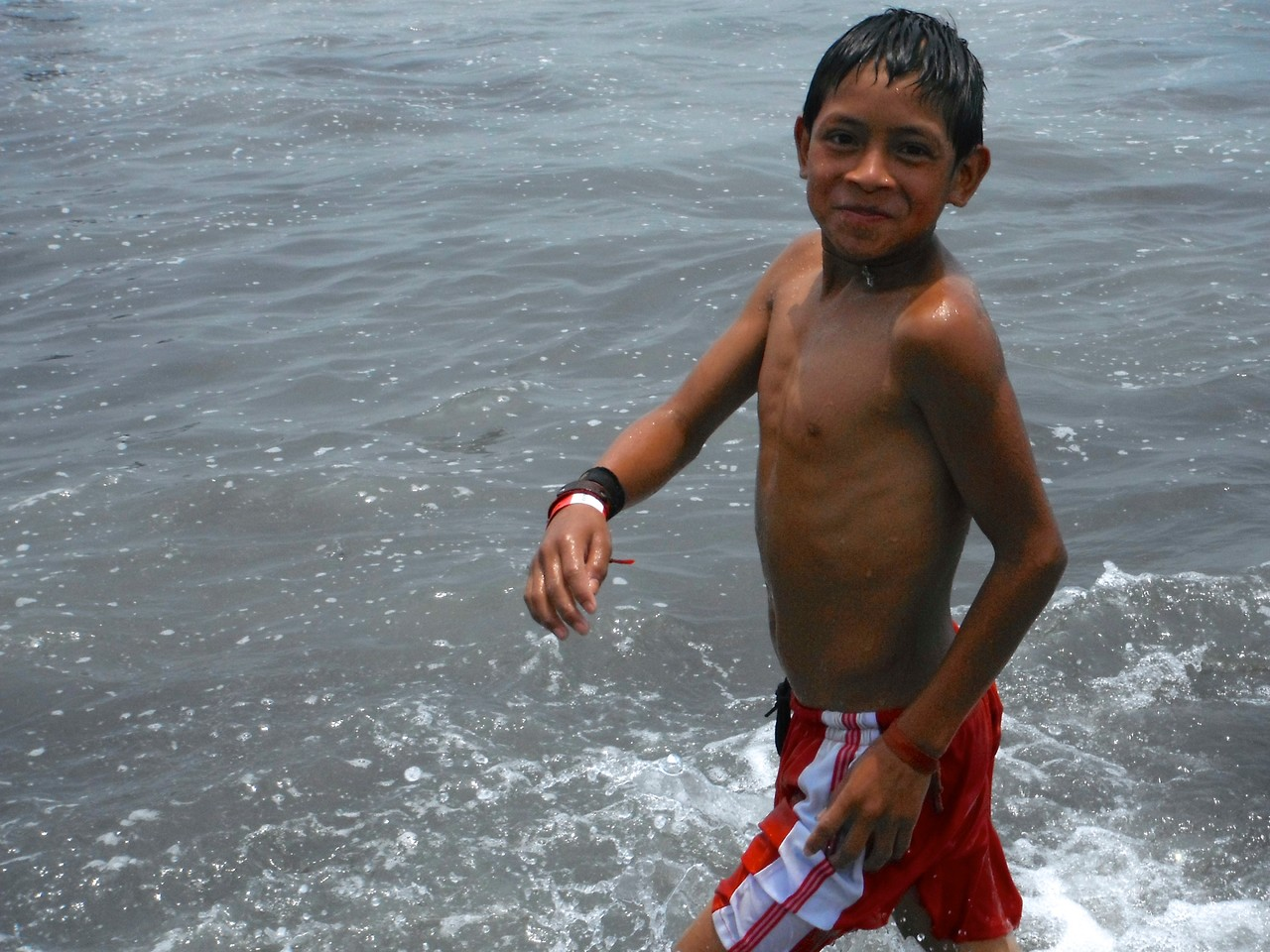 denilson at the beach
