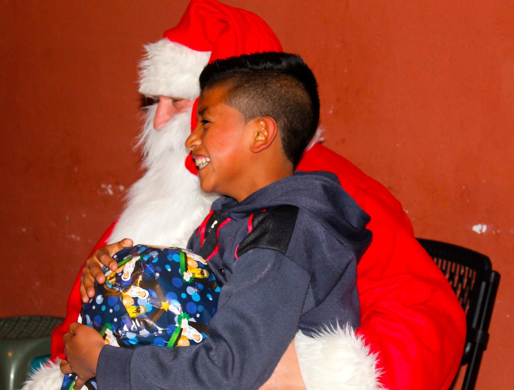 wilson and santa