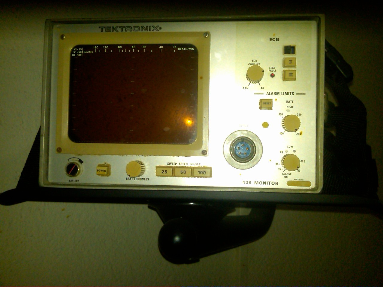 "the old broken ""contractions monitor"" in our room!"