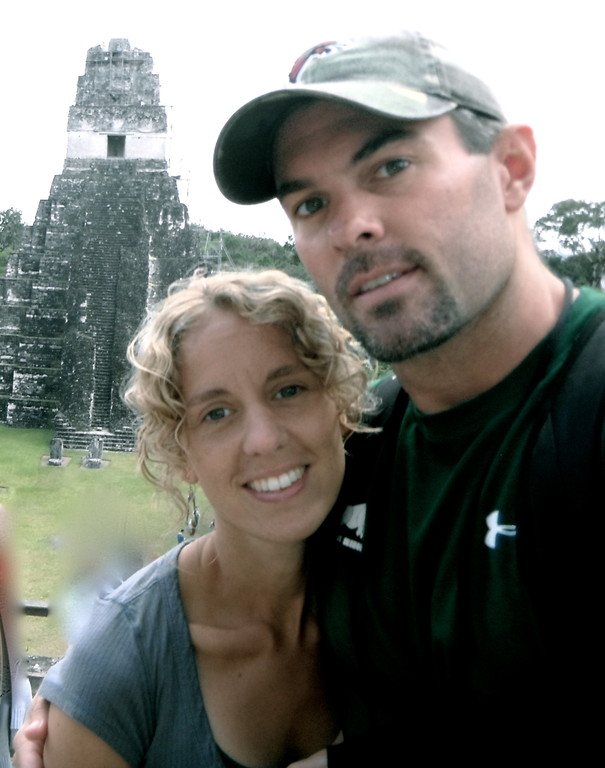 in tikal with my sweetie
