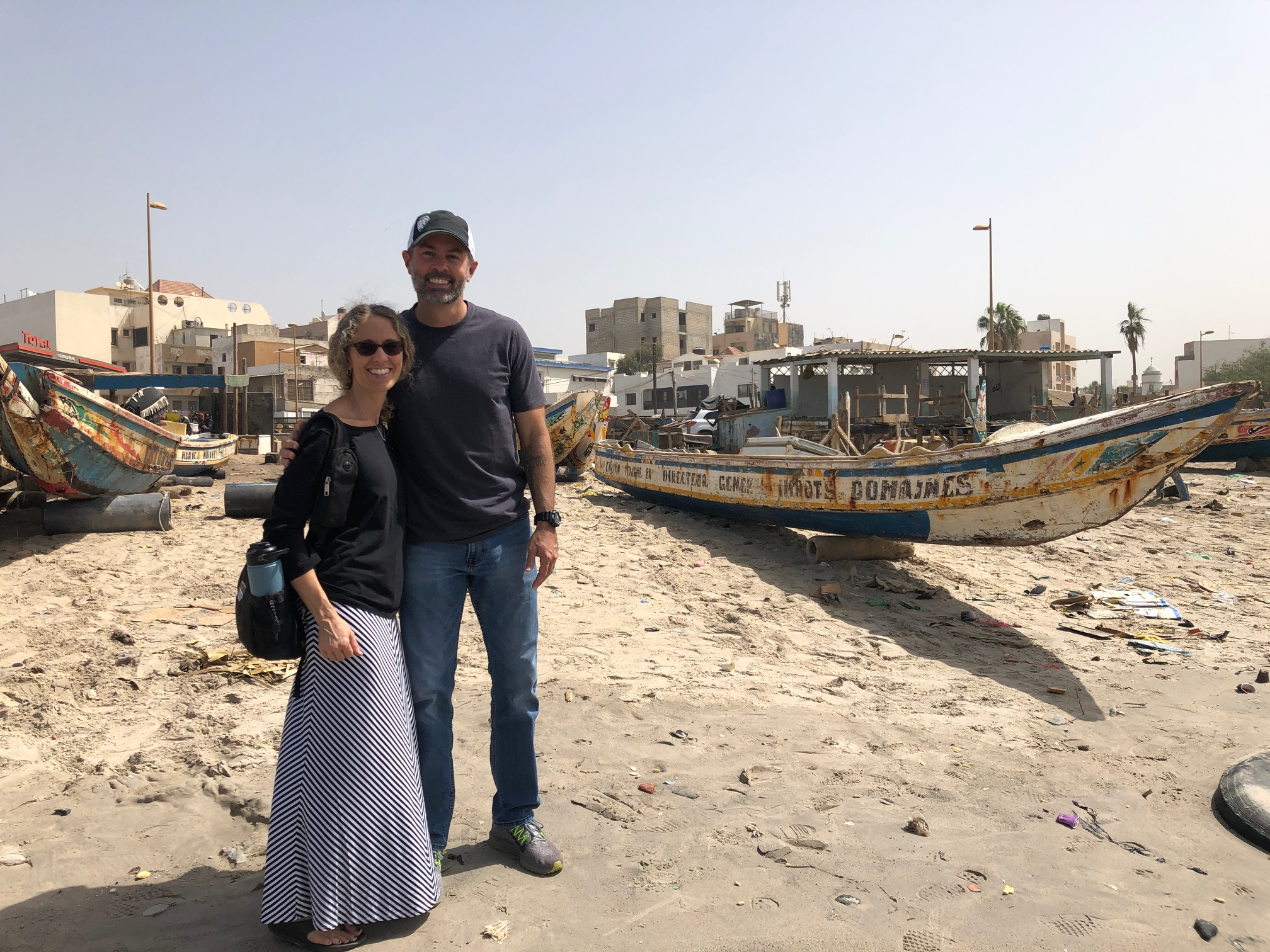 brock and kerrie, dakar