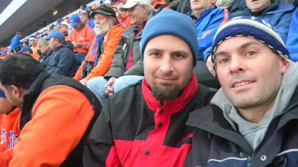 rich & brock at the bsu game