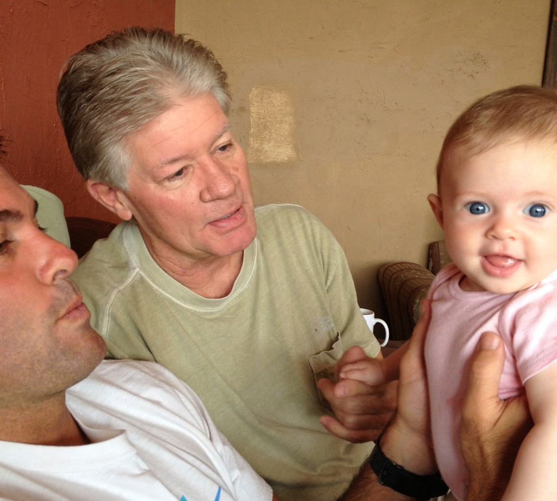 daddy, papa, and luciana