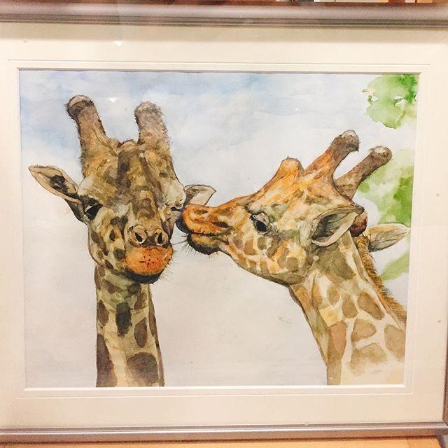 9月の展示:輝きの4人展「キリン」-画廊カフェリトルギャラリー-